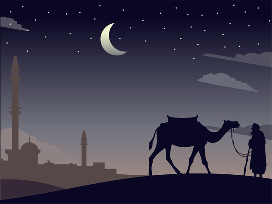 Arabic month names